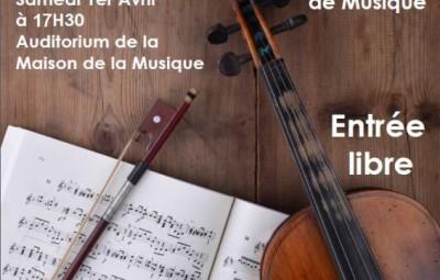 affiche concert violon 1er avril
