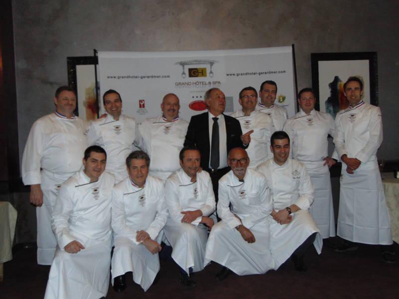 L'équipe des Chefs avec Claude Remy