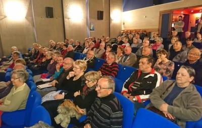 La MCL avait pratiquement fait  salle comble pour cette première réunion d'une nouvelle action en faveur des seniors et de la sécurité routière