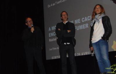 Etienne Comar, Reda Kateb et Cécile de France
