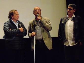 """rené Letzgus, Gérard Muller et François Orsat, président de l'association """"Yvoir"""""""