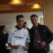 Julien Lalevée, vainqueur dans l'épreuve de cuisine