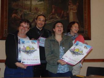 Anne Chwaliszewski, Pierre-Marie Paturel, Hélène Tisserand et Annabelle Valentin