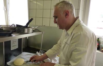Valérian Privat à la réalisation de son nouveau pain