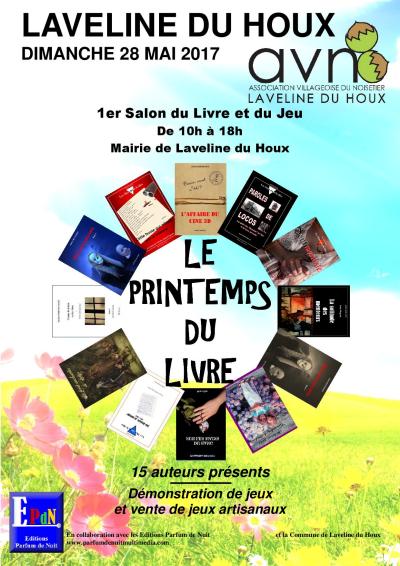 1er salon du livre et du jeux laveline du houx for Salon du livre 2017 montreuil