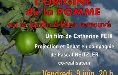 Projection L'Origine de la Pomme à la Bresse(1)