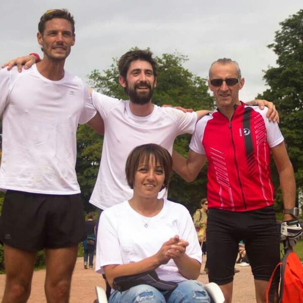 Luisa Ghomérani entouré de son trio de choc