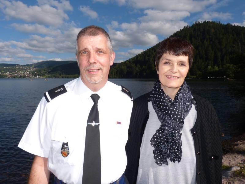 Philippe Carde et son épouse