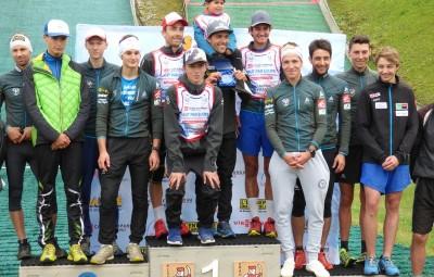 podium équipes