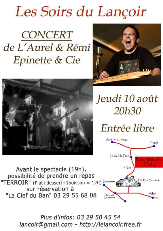 Affiche-L'Aurel.Remi-10-08