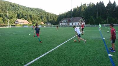 U13 entraînement