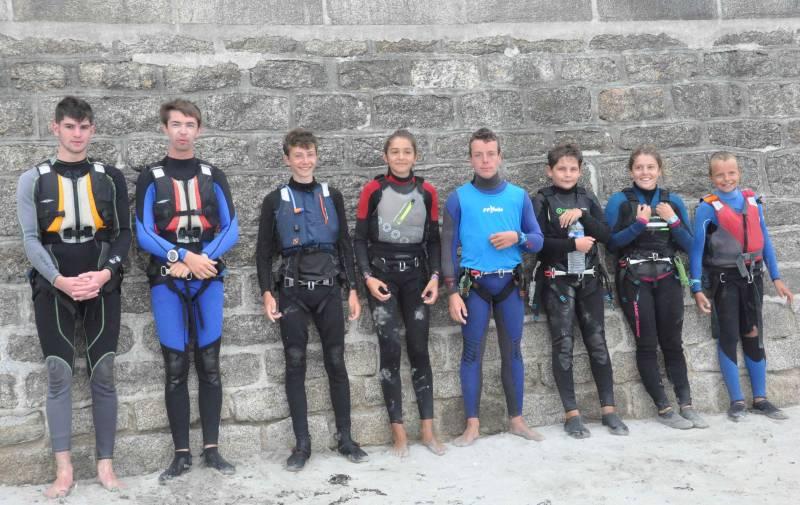 L'équipe jeunes au Tour DuF