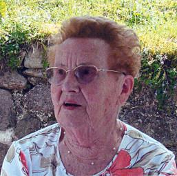 Jacqueline s'est éteinte à l'âge de 95 ans.