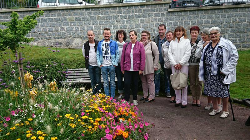 Un jury composé d'élus et de professionnels à l'image de deux fleuristes locaux venus apporter leur œil d'experts