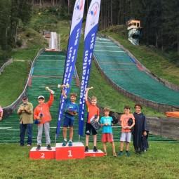 Louka Didier 1er à Chamonix