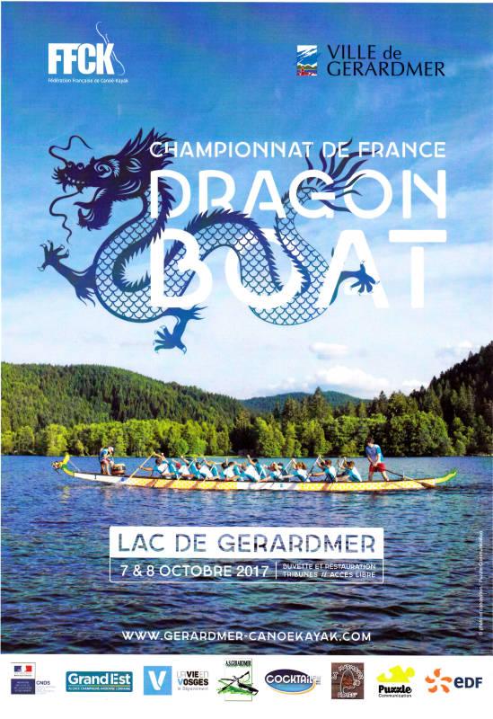 Chpt de france dragonboat gérardmer