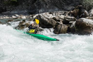 kayak ash rivière