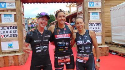 Jameson, Morel & Riou, le tiercé gagnant du triathlon D.O chez les filles