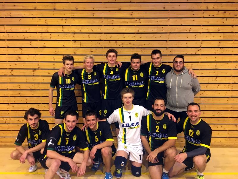 Régionale seniors volley 2018