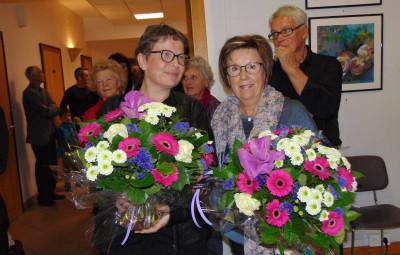 Nunco (à gauche) et Capra, invitées d'honneur de cette édition.