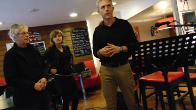 David Demange, responsable de l'atelier ciné du lycée Chardin
