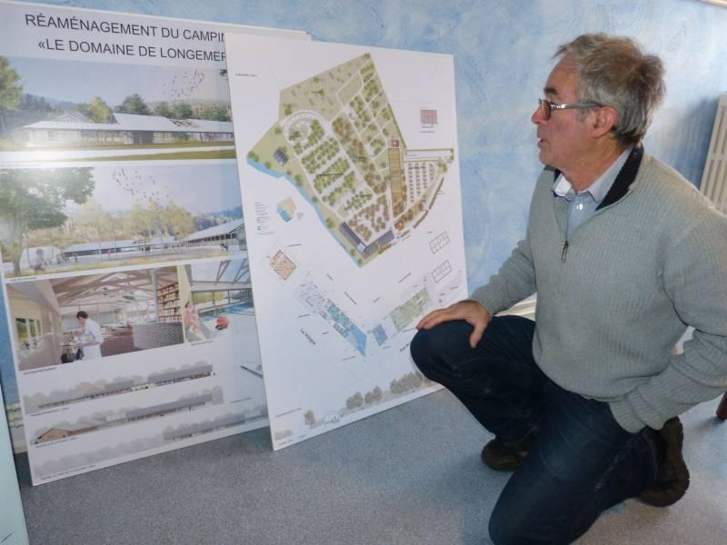 Le maire Michel Bertrand évoque le projet