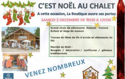 noel chalet secours catholique 201è