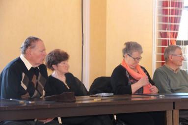 Une petite délégation venue de Ban de la Roche avait fait le déplacement pour cette assemblée générale.