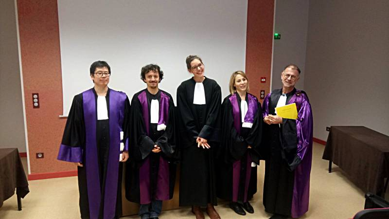 Antonine Gaspard diplome