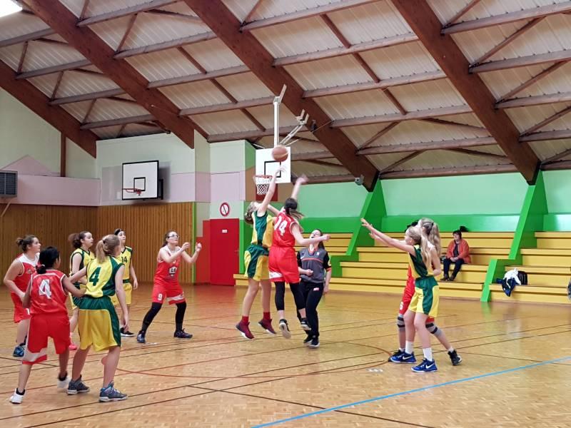 basket U15 CTC Hautes vosges
