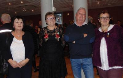 Brigitte Crouvezier, Annie Henztler, Daniel Charpentier et Marie-Christine Venner.