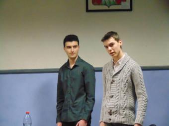 Alex & Florian ont donné le 1er point à la Haie Griselle