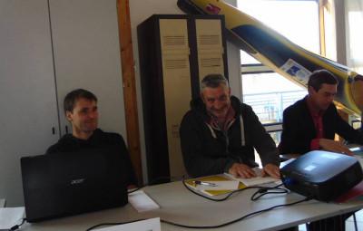 Le coach Gwendal Duchet et le président Ludovic Georges peuvent avoir le sourire !
