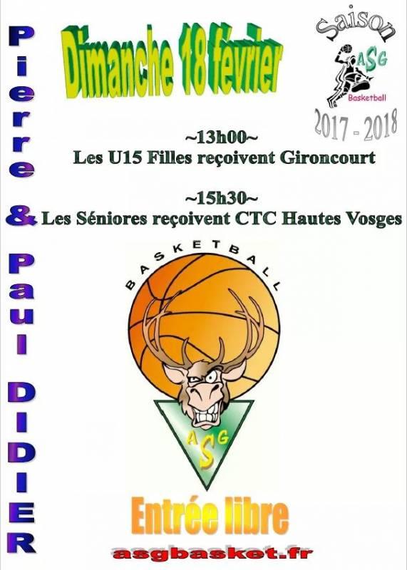 agenda basket 2018
