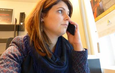 Pauline Bechet responsable de l'agence AREAS de Gérardmer