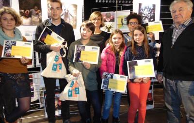 Les Lauréats en compagnie de Pierre Sachot & Annabelle Soudière