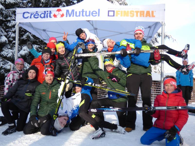 Le groupe Vosges des U15 a fait un vrai carton ce week-end !!