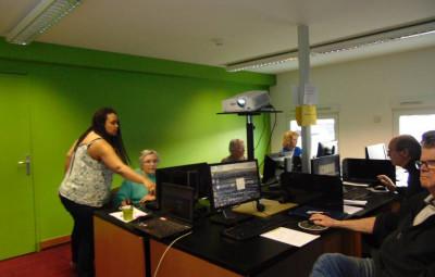 atelier informatique médiathèque