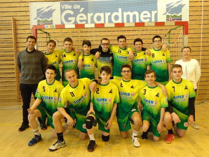 moins de 18 asg handball super U 2018