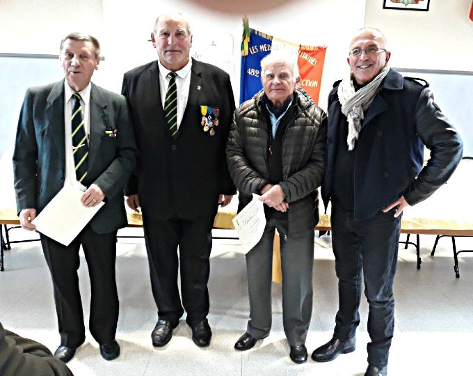 Médaillés diplomes Gérardmer