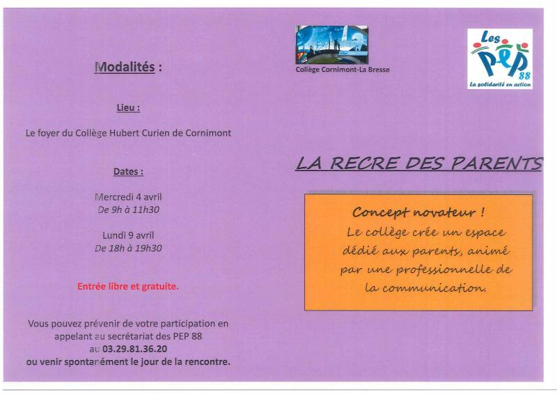 college curien recre parents (1)