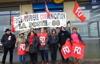 grève poste gérardmer
