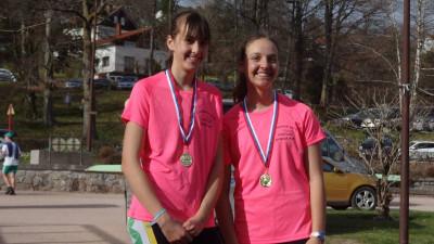 Jessie Pierrel et Manon Mansuy championnes Grand Est