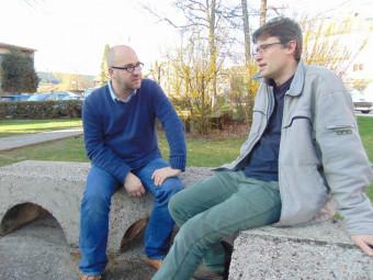 Marc Namblard & Stéphane Manchematin (à gauche sur la photo).