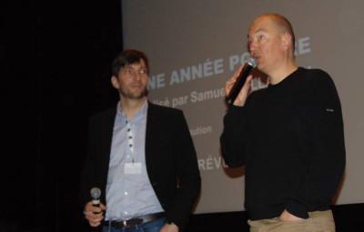 Samuel Collardey (à droite sur la photo)