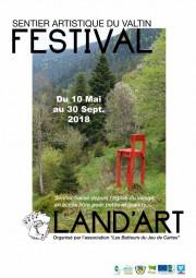 festival land'art affiche 2018