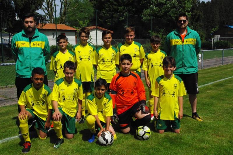 U13 ligue 2017-2018