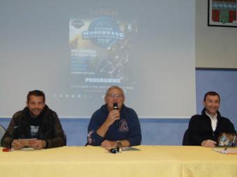 Marc Rossignon entouré de Fred Jacquot et Olivier Girardot