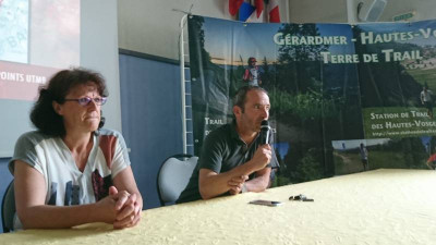 Marc Fegli a présenté les épreuves reines du Trail 2018.