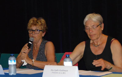Martine Crouvezier & Lydie Guillemain